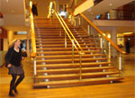 Royal Festival Hall stairway by Julie Kertesz (from Flickr)