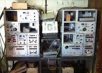 Abdandoned radio equipement