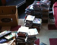 Sorting CDs